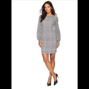 Lauren Ralph Lauren Plaid Puff Sleeve Dress